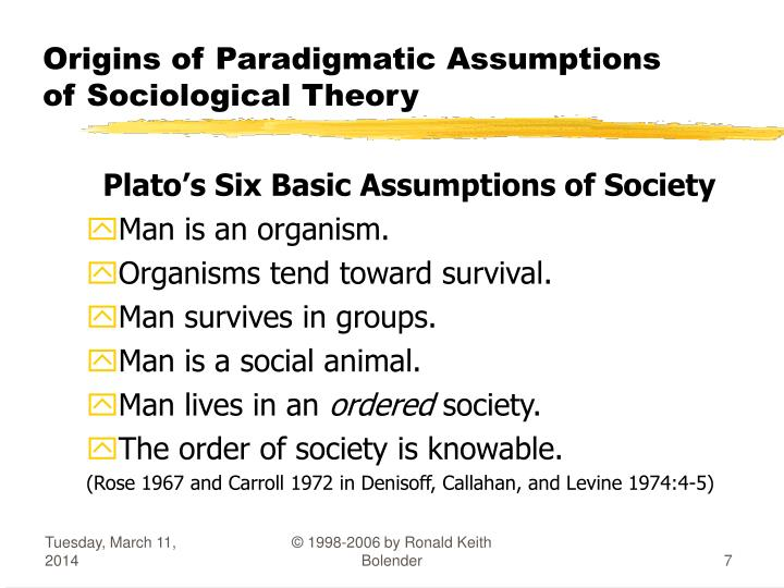 sociological theory final Sociological theory, 2010, vol 28 he accords goethe in his attempt to come to terms with weber's theoretical logic, in the final analysis his argument is not.