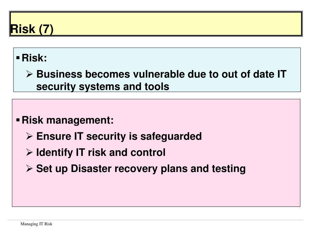 Risk (7)