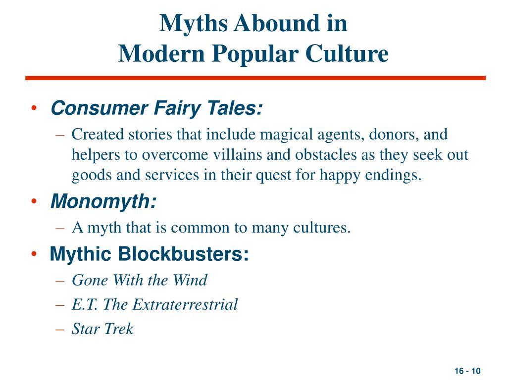 Myths Abound in