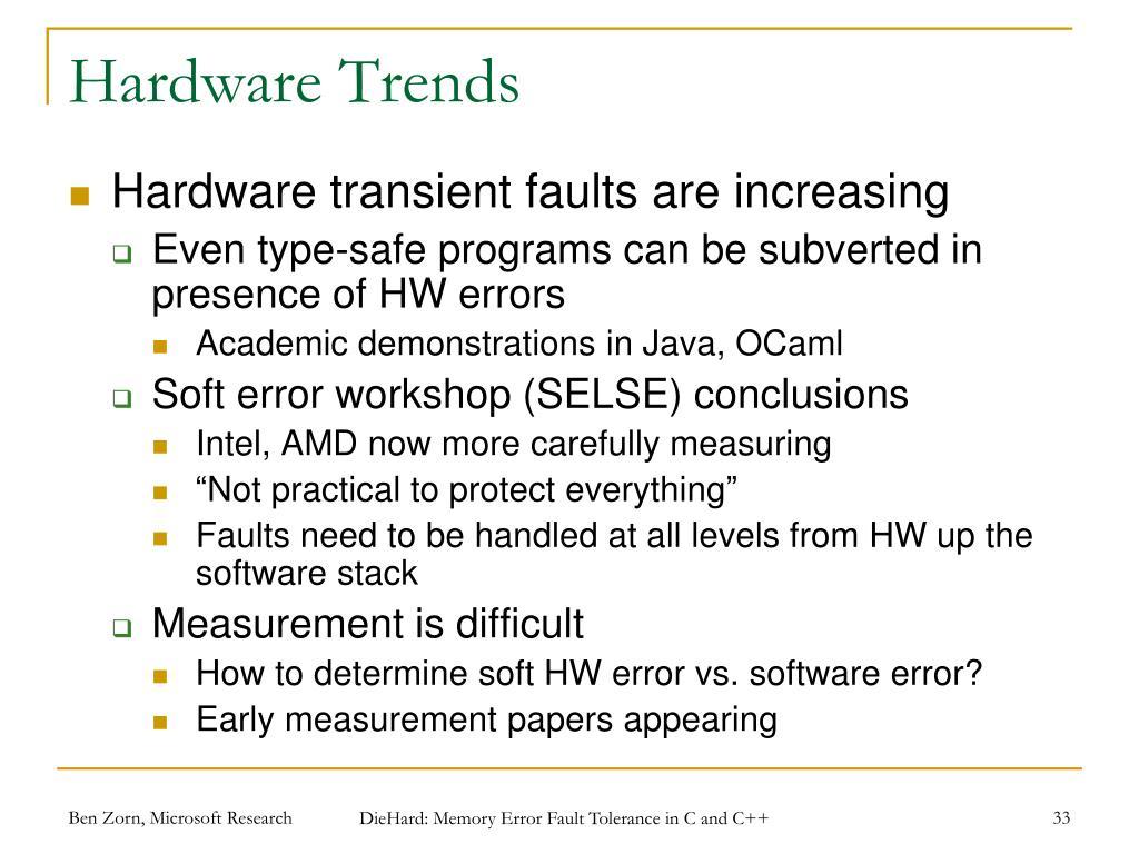 Hardware Trends
