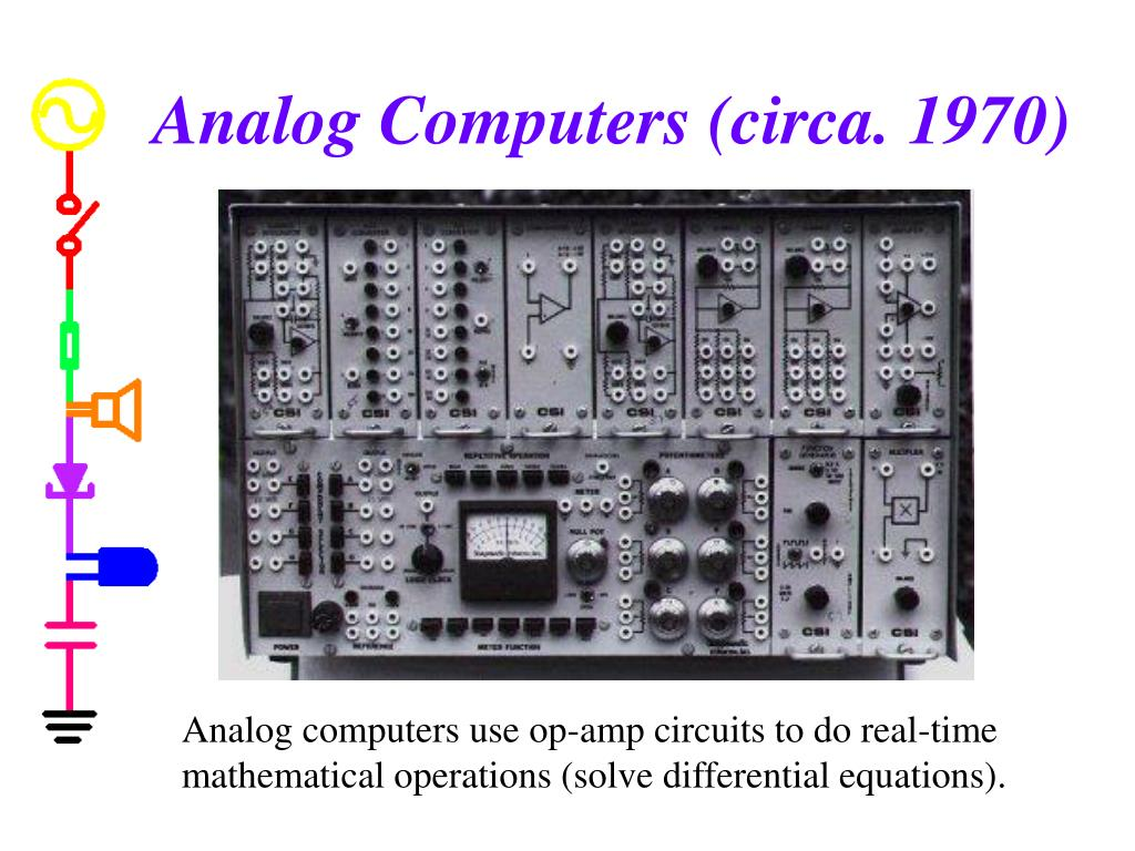 Analog Computers (circa. 1970)