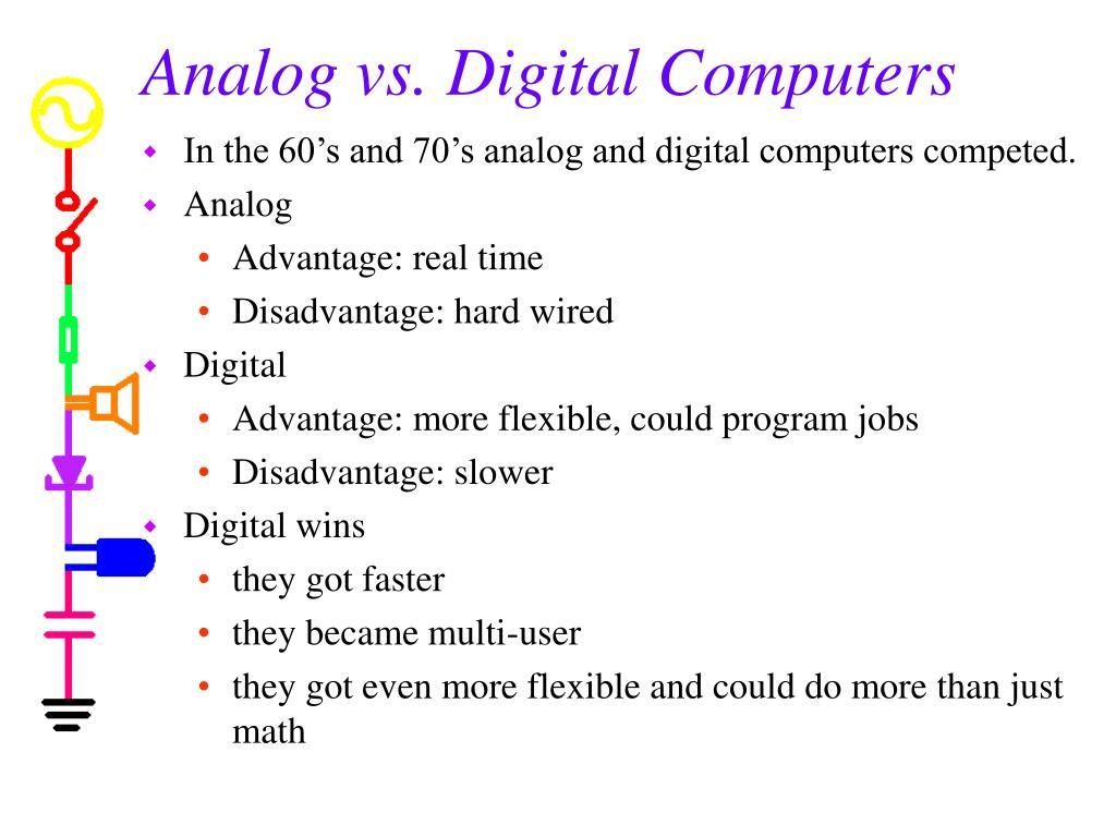 Analog vs. Digital Computers