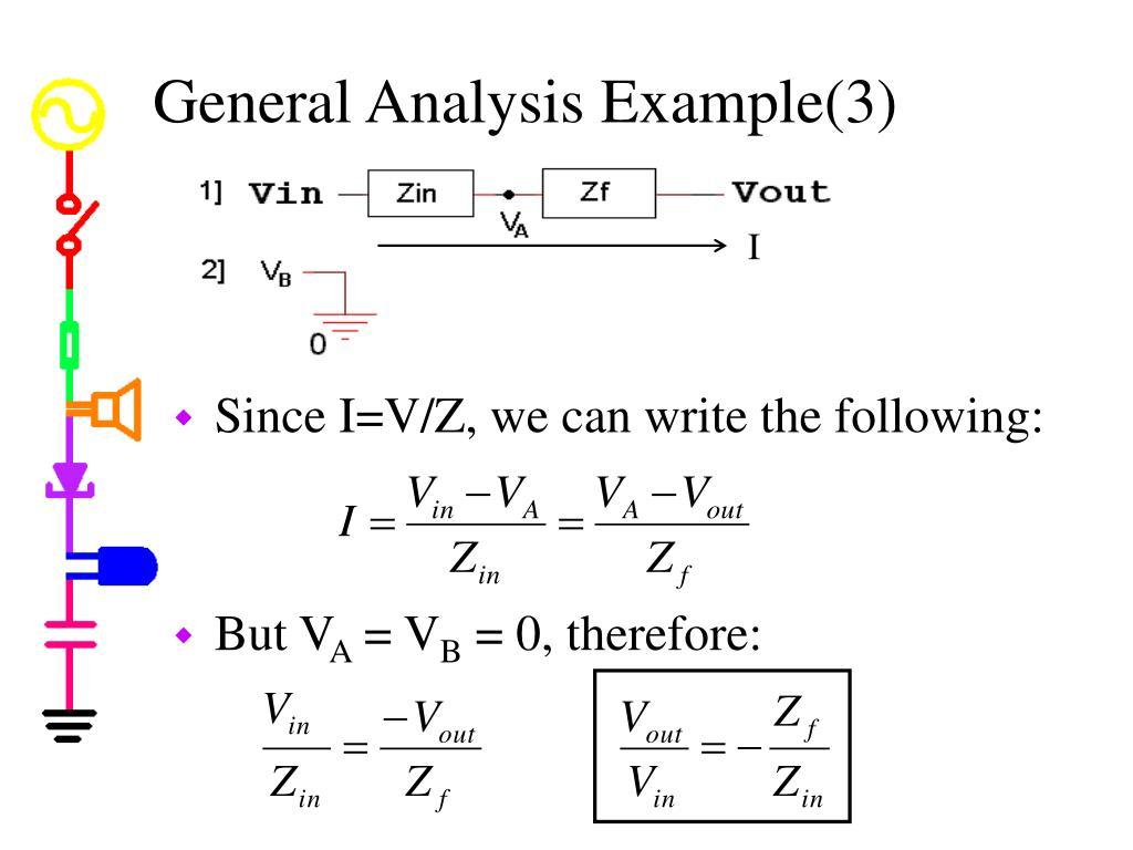 General Analysis Example(3)