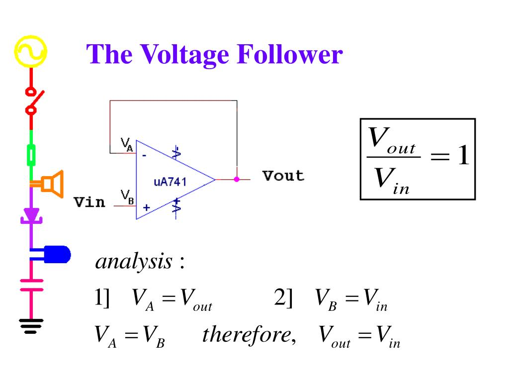 The Voltage Follower