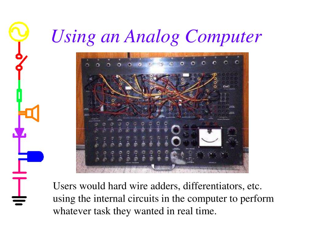 Using an Analog Computer