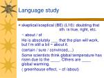 language study15