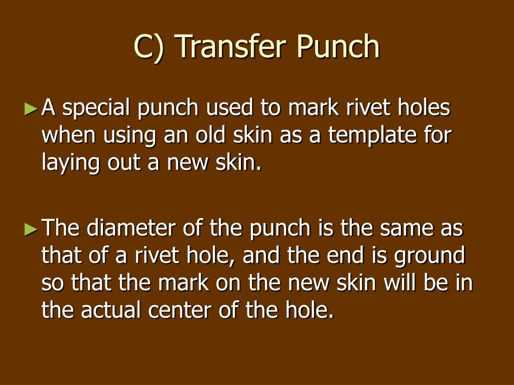 C) Transfer Punch