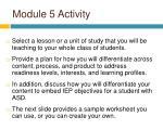 module 5 activity