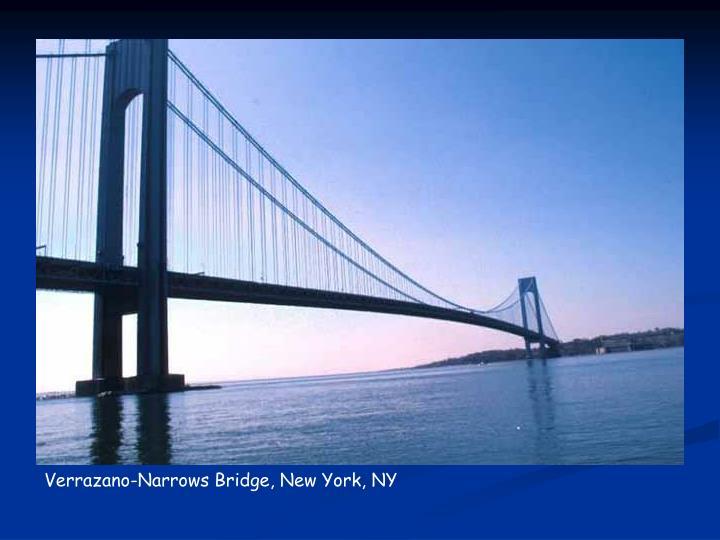 Verrazano-Narrows Bridge, New York, NY