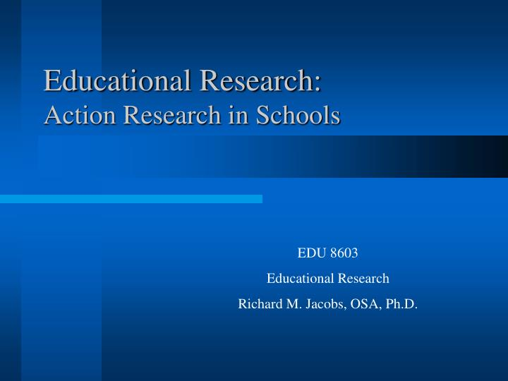 educational research action research in schools n.