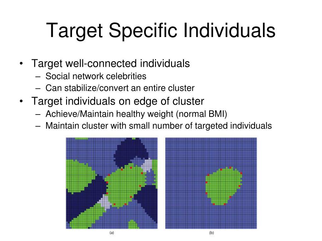 Target Specific Individuals