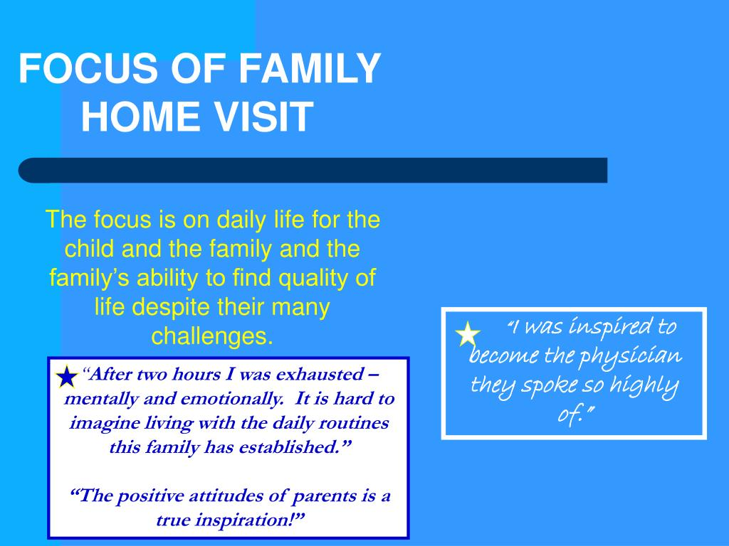 FOCUS OF FAMILY