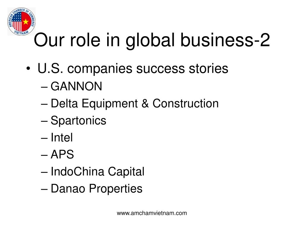 Our role in global business-2