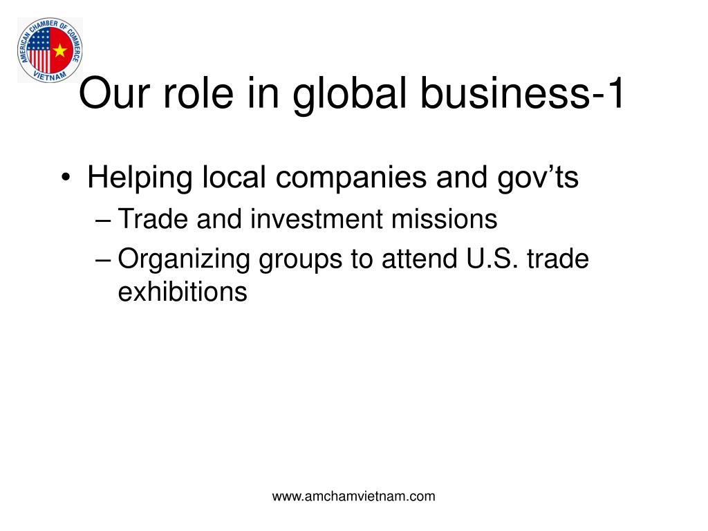 Our role in global business-1