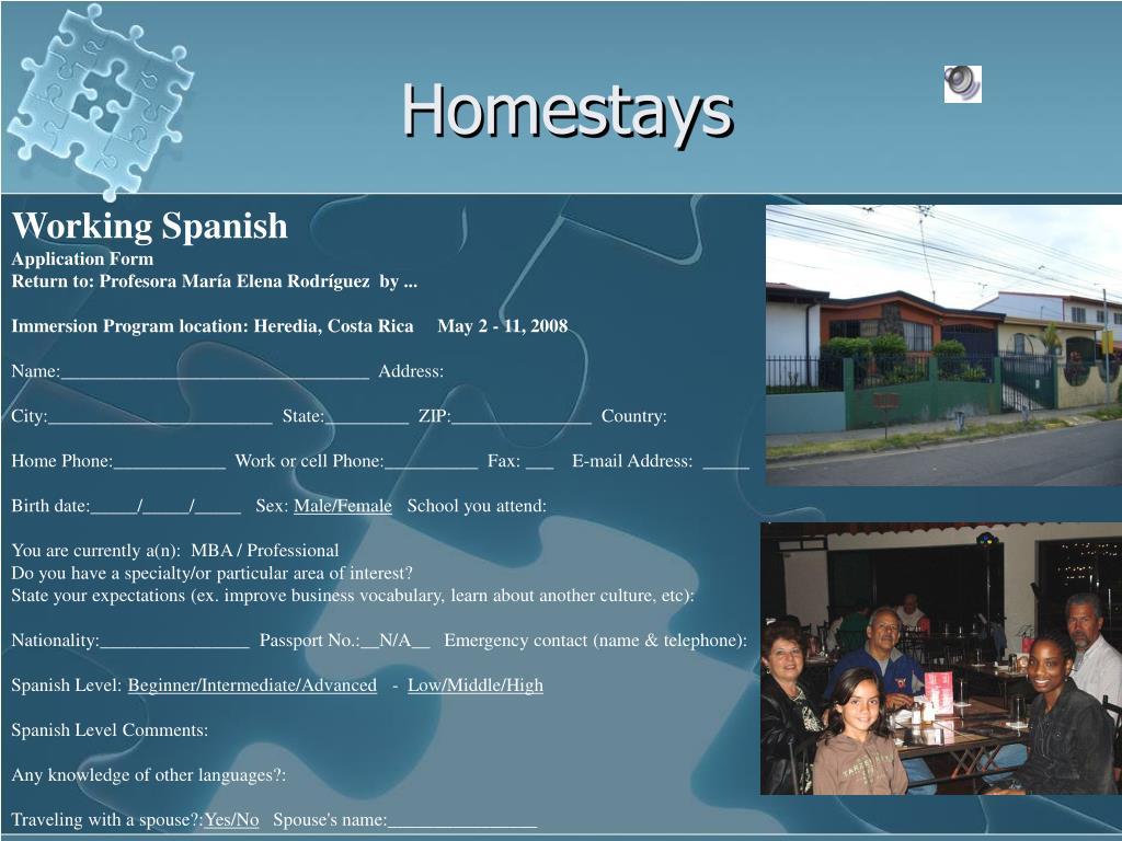 Homestays