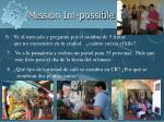 mission im possible