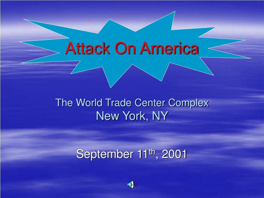 attack on america the world trade center complex new york ny l.