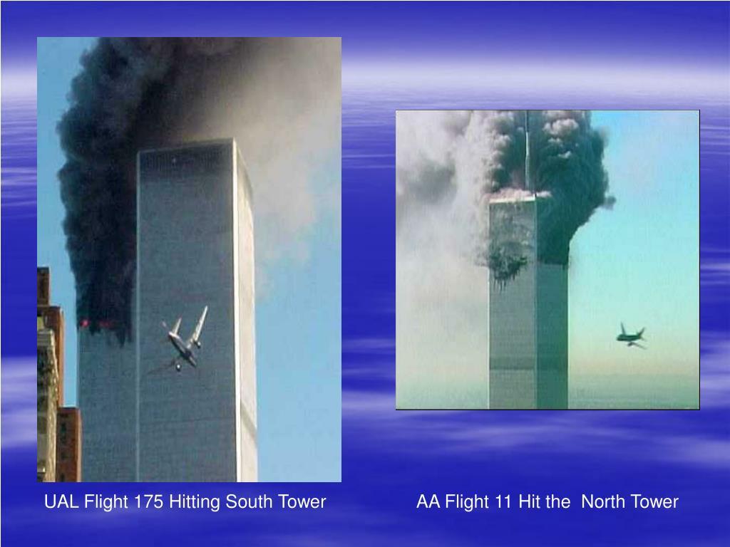 UAL Flight 175 Hitting South Tower