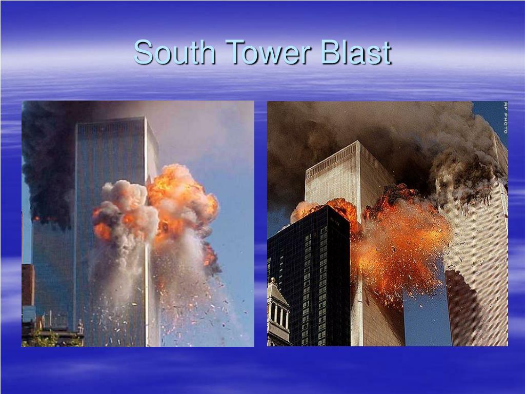 South Tower Blast