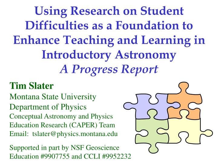 Using Research on Student Difficulties as a Foundation to Enhance Teaching and Learning in Introduct...