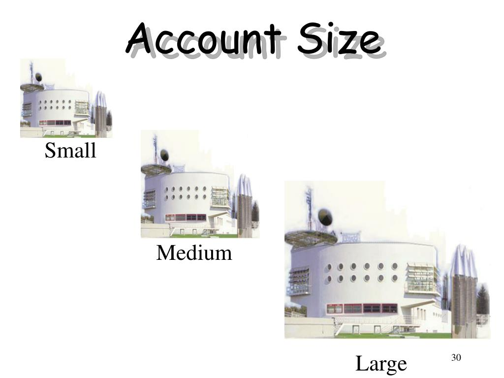 Account Size