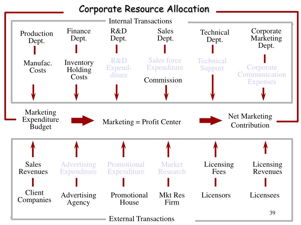Corporate Resource Allocation