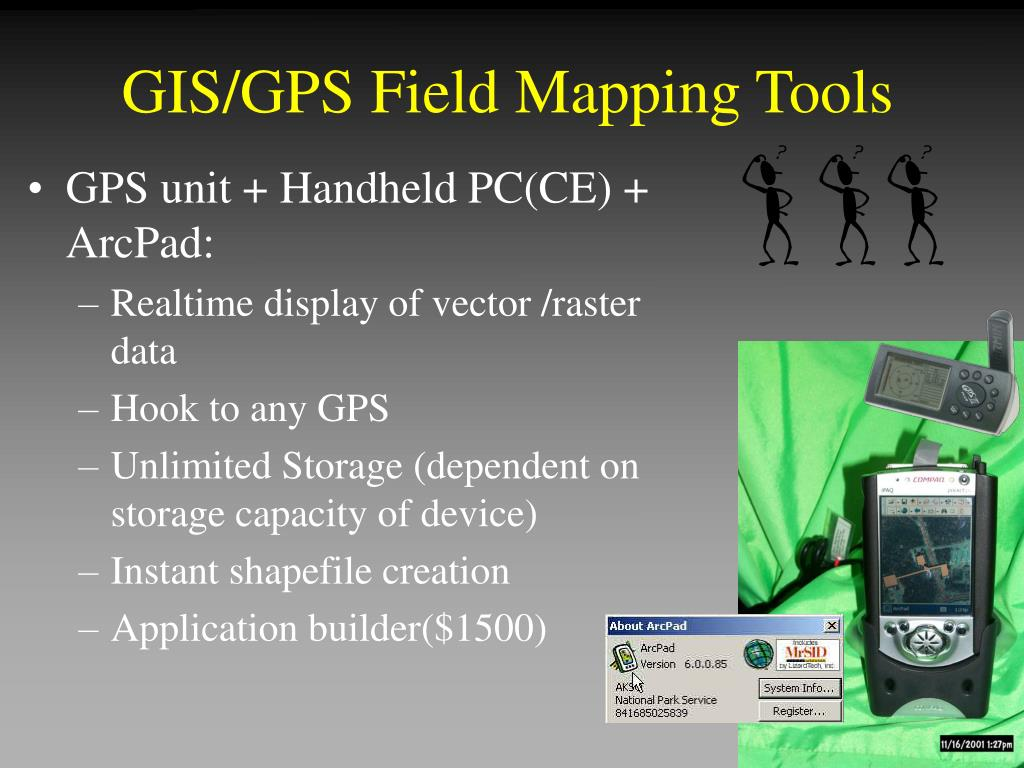 GIS/GPS Field Mapping Tools