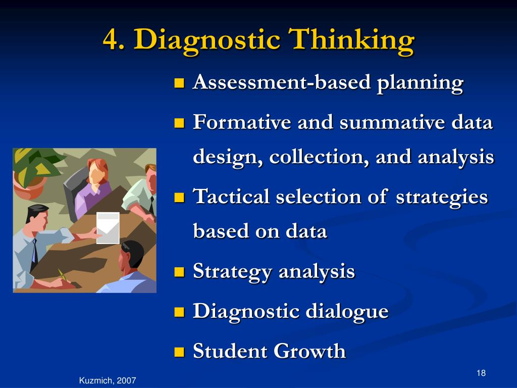 4. Diagnostic Thinking