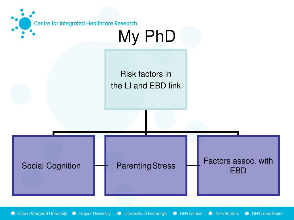 My PhD