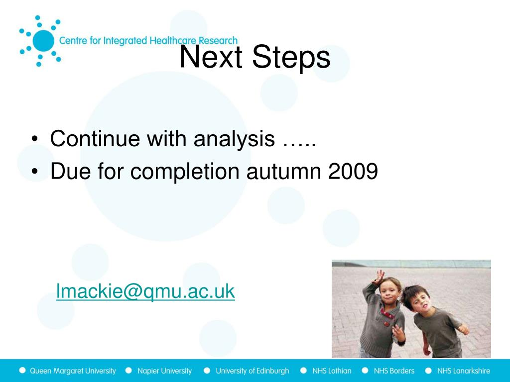 Continue with analysis …..