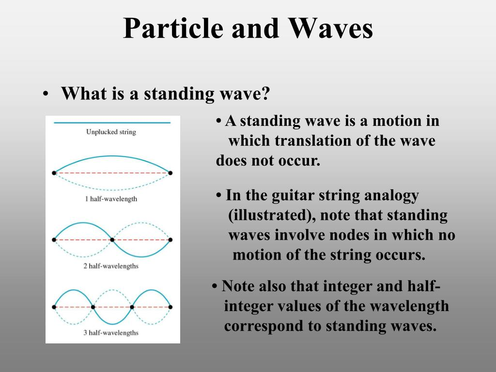 Particle and Waves