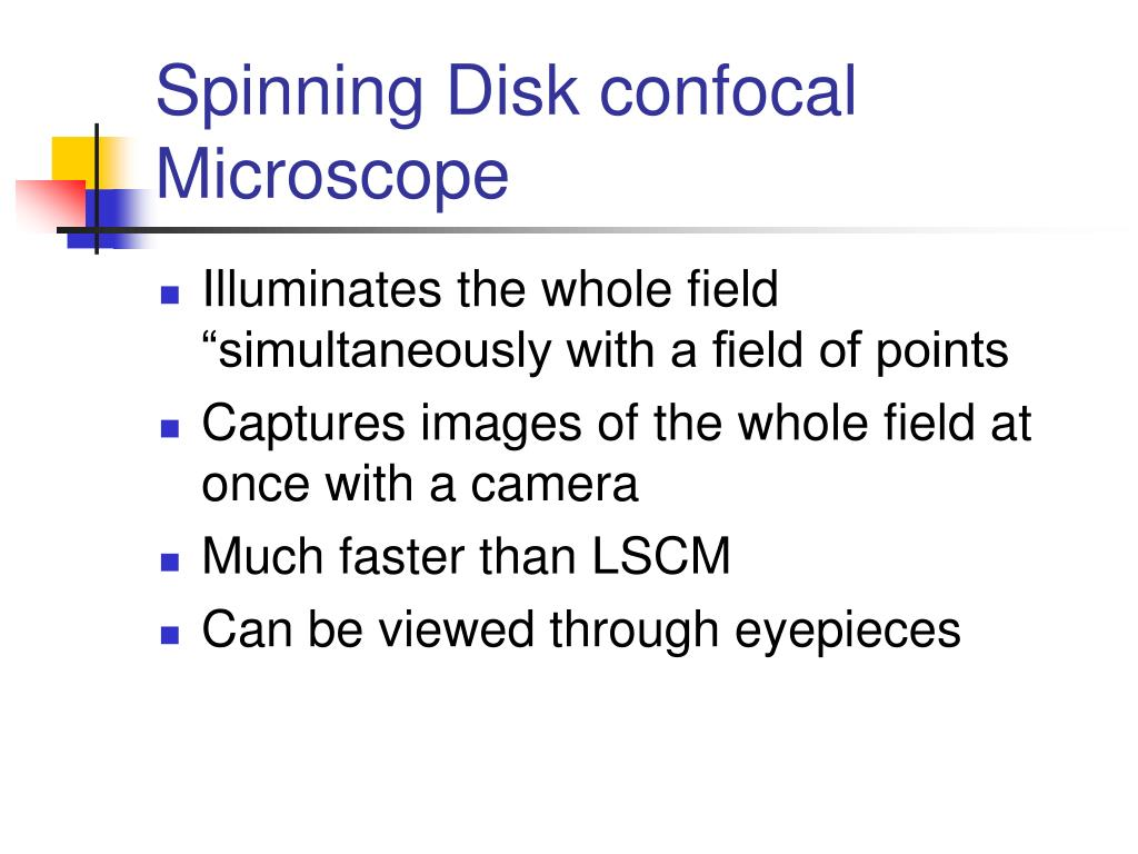 Spinning Disk confocal Microscope