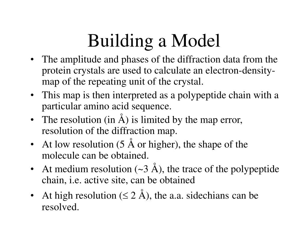 Building a Model