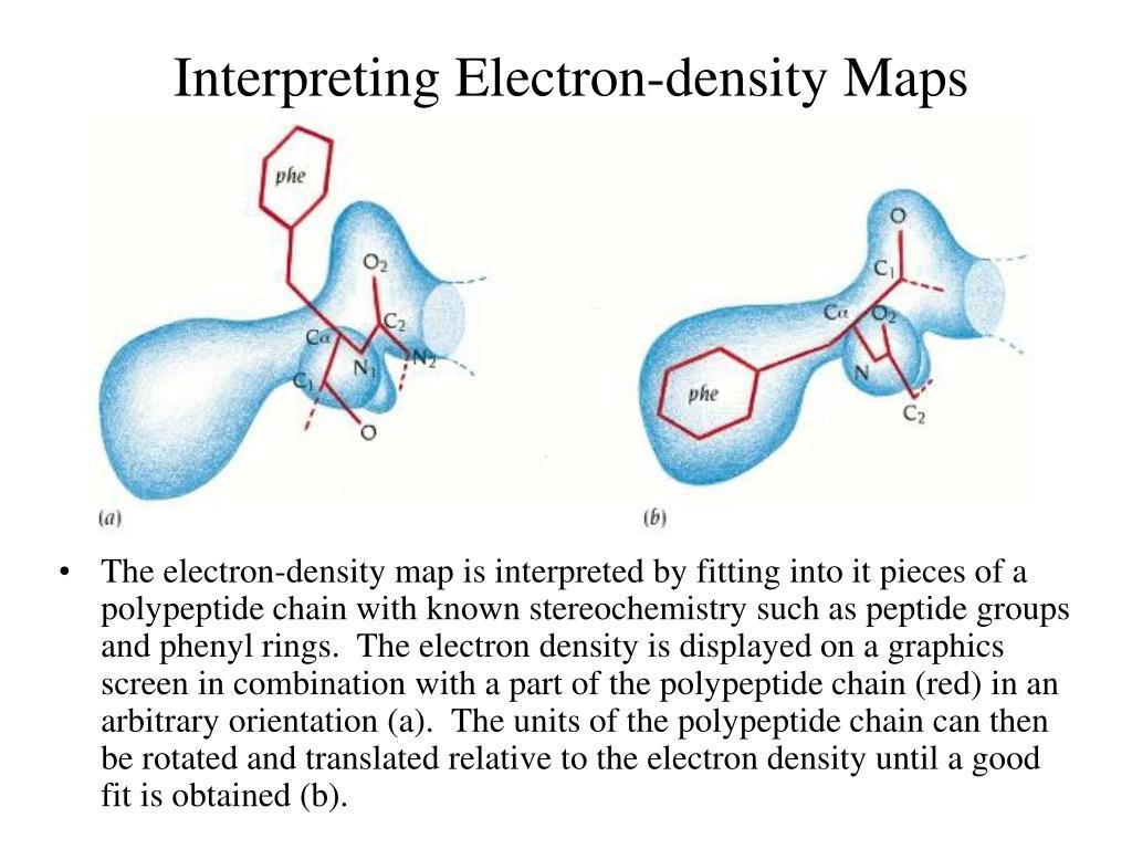 Interpreting Electron-density Maps