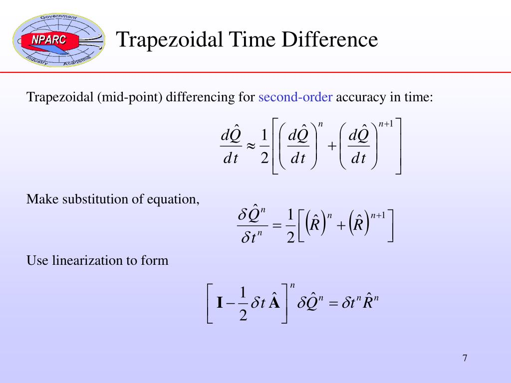 Trapezoidal Time Difference