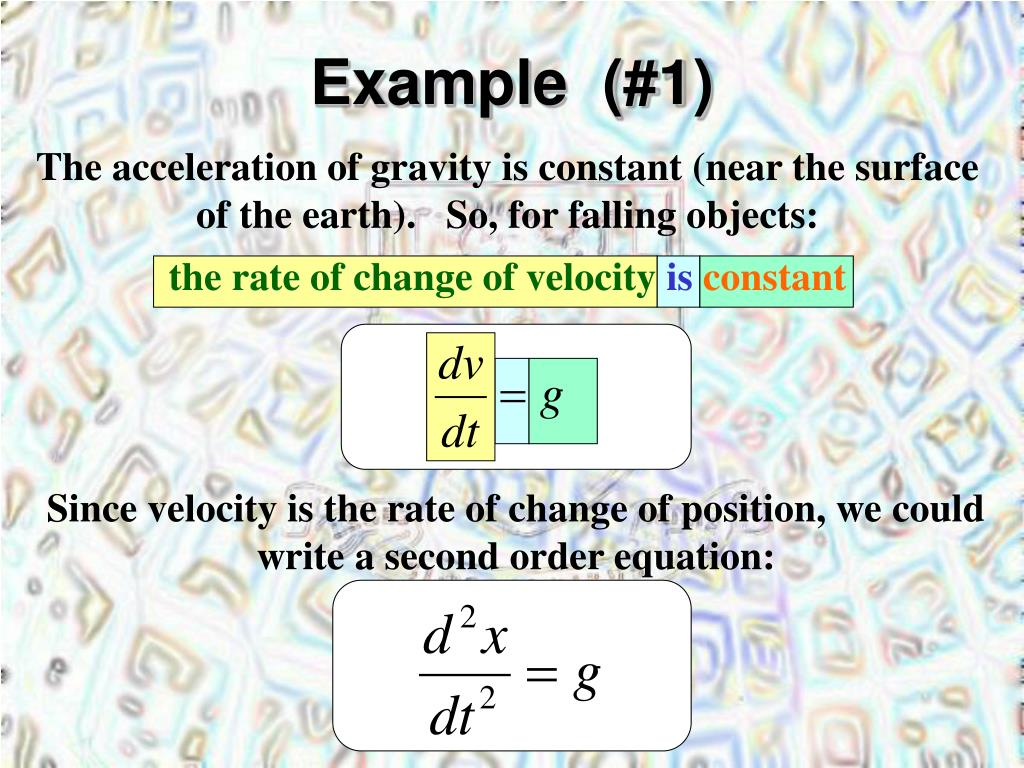 Example  (#1)