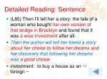 detailed reading sentence13