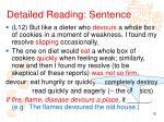 detailed reading sentence2
