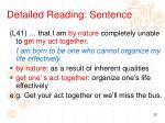 detailed reading sentence5