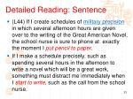 detailed reading sentence6