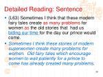 detailed reading sentence9