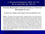 j structural engineering asce vol 127 no 6 june 2001 pp 705 711