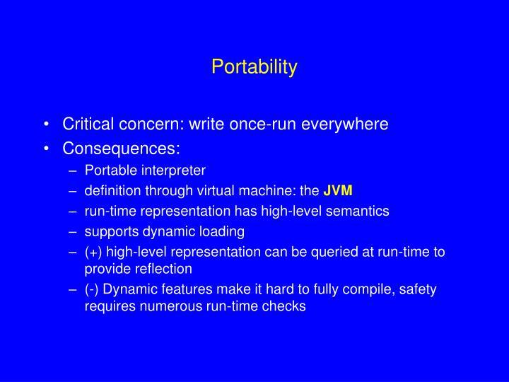Portability
