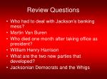 review questions64