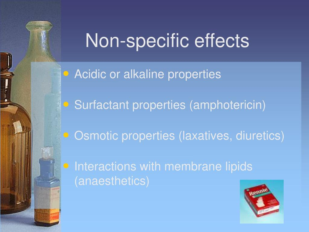 Non-specific effects