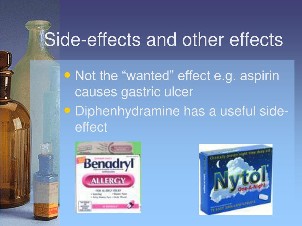 Side-effects and other effects