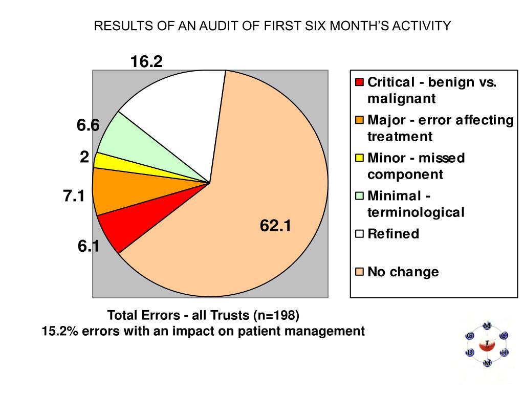 RESULTS OF AN AUDIT OF FIRST SIX MONTH'S ACTIVITY