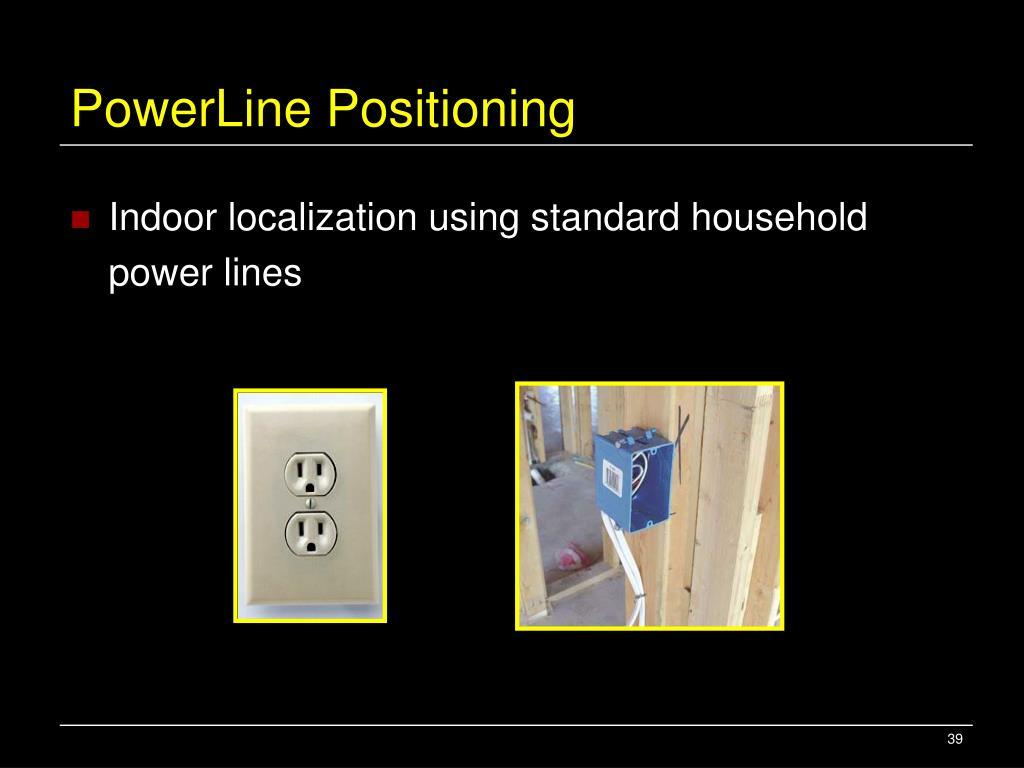 PowerLine Positioning