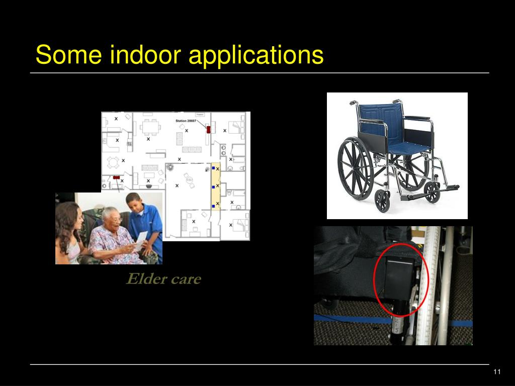 Some indoor applications