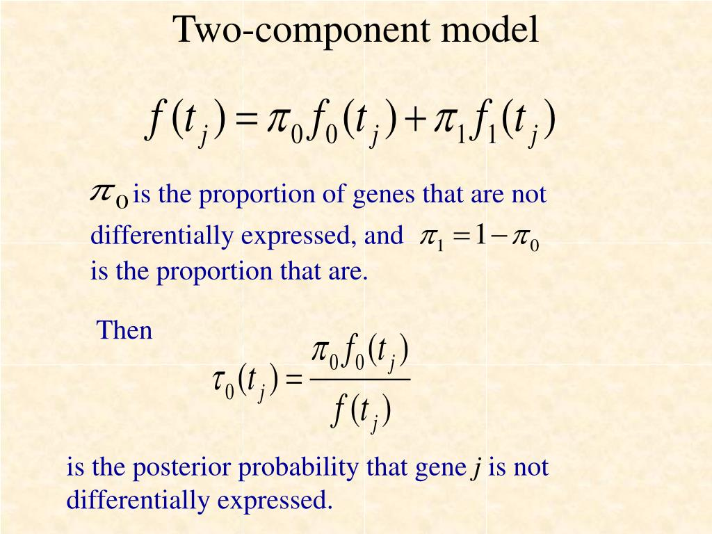 Two-component model